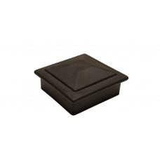 Комплект крышка/юбка для столба POLIVAN (Россия) черный