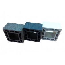Столб опорный BULROS (Китай) белый 91х91х3000мм