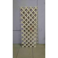 Декоративная решетка без обвязки, 100х100 (Кв.метр)