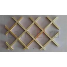 Декоративная решетка без обвязки, 150х150 (Кв.метр)