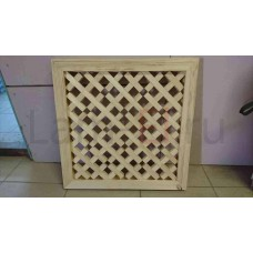 Декоративная решетка с обвязкой, 30х30 (Кв.метр)
