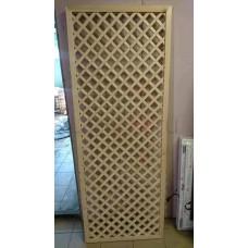 Декоративная решетка с обвязкой, 50х50 (Кв.метр)
